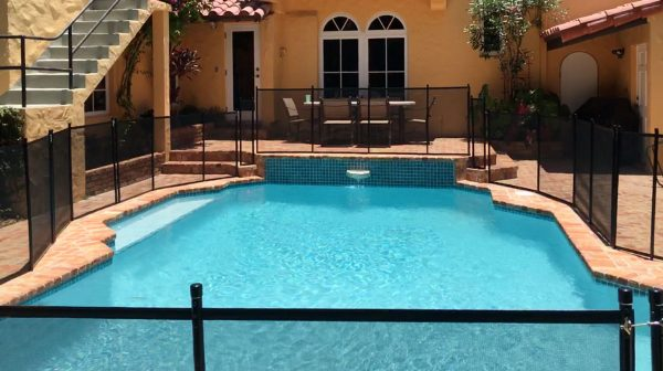 Coral Gables Pool Fence