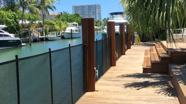 Key Biscayne Safety Seawall Fence